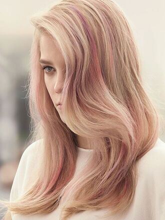 hair accessory pink hair pastel hair wavy hair hairstyles party