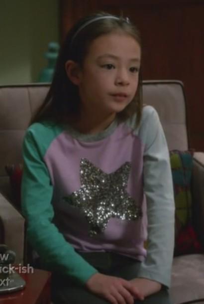 t-shirt lily tucker-pritchett aubrey anderson-emmons modern family