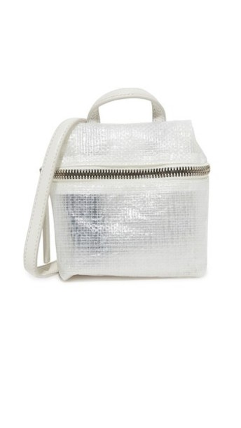 kara satchel white bag