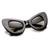 Retro Mod Super Trendy Womens Fashion Cat Eye Sunglasses 9233