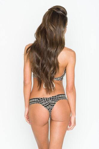 swimwear bikini bottoms bikini delivery brazilian bikini brown montce swim montce swimwear print skimpy tan bikiniluxe