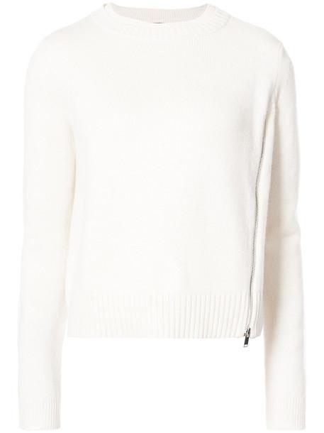 sweater women white silk wool