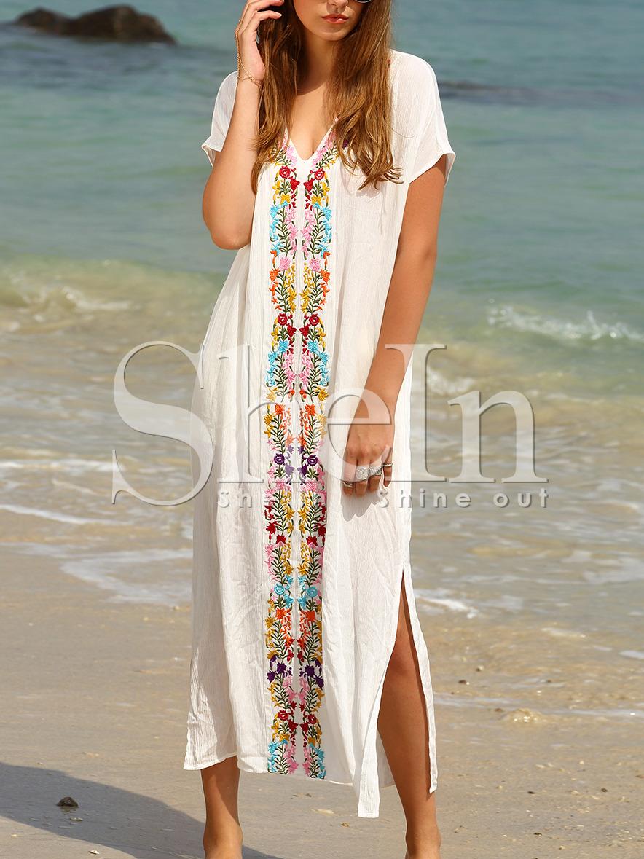 Купить Тунику Пляжную Длинную