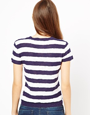 Shae | Shae Short Sleeve Stripe Top at ASOS