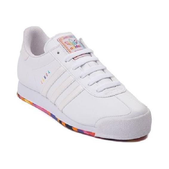 quality design fd395 3e72c New Adidas Originals Samoa Athletic WHITE MONOCHROME ...