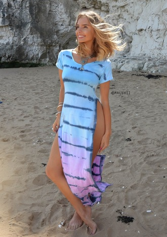 dress maluhii maluhii dress maluhii top maluhii beach maluhii clothing maluhii tie dye tie dye maxi dress side split maluhii beach dress beach