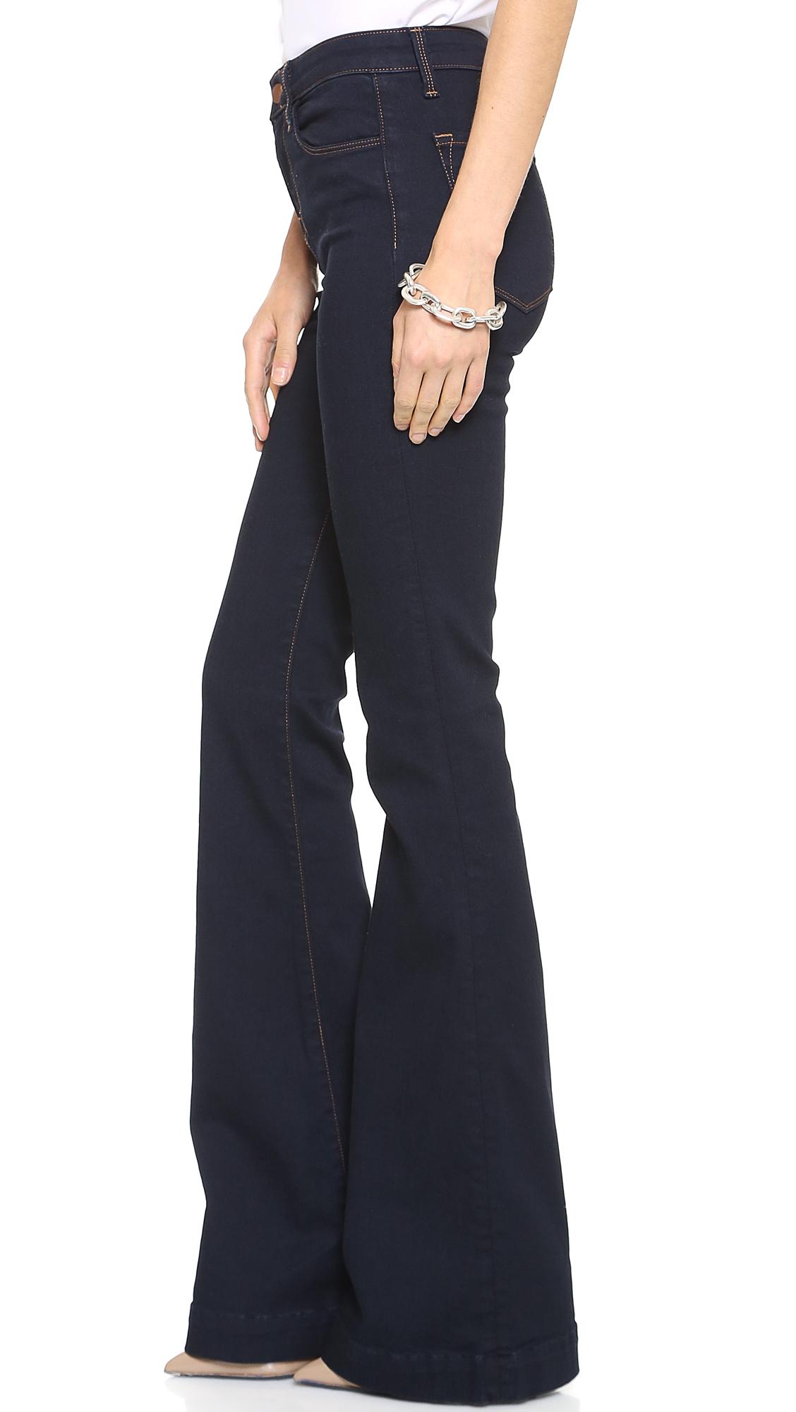 J Brand The Doll High Waist Bell Bottom Jeans Shopbop