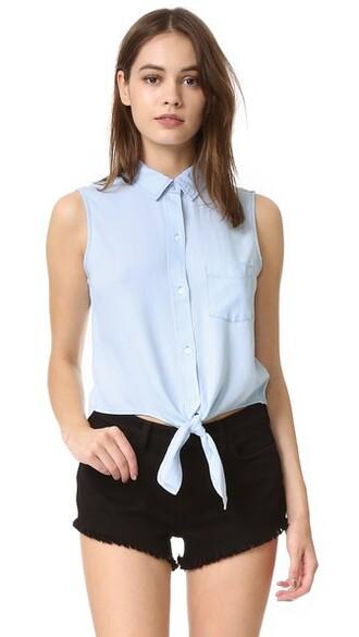 shirt button down shirt vintage sleeveless light top