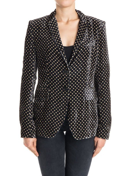 NEWYORKINDUSTRIE jacket velvet black beige
