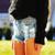 450 Stone Studded Daisy Shorts | RUNWAYDREAMZ