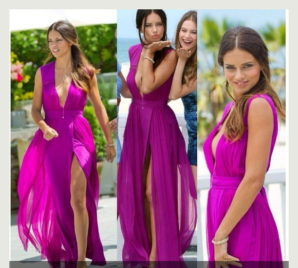 homecoming dress prom deep v plunge plunging neckline formal