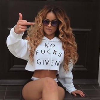 black white middle finger crop graphic tee glasses sunglasses bottoms dope jacket hoodie cropped cropped hoodie black and white white and black hoodie no fucks given curly hair natural hair black girls killin it trill undies lemybeauty black underwear lip bite curvy the middle