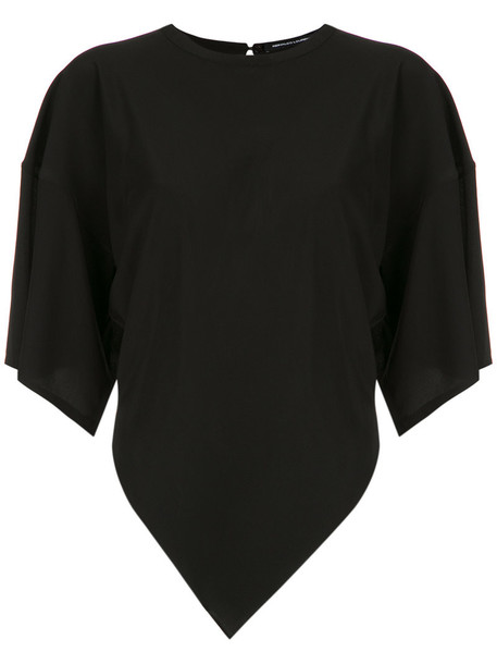 Reinaldo Lourenço blouse women black silk top