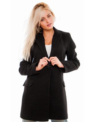 jacket zefinka 36683 black jacket outfit outfit idea fall outfits