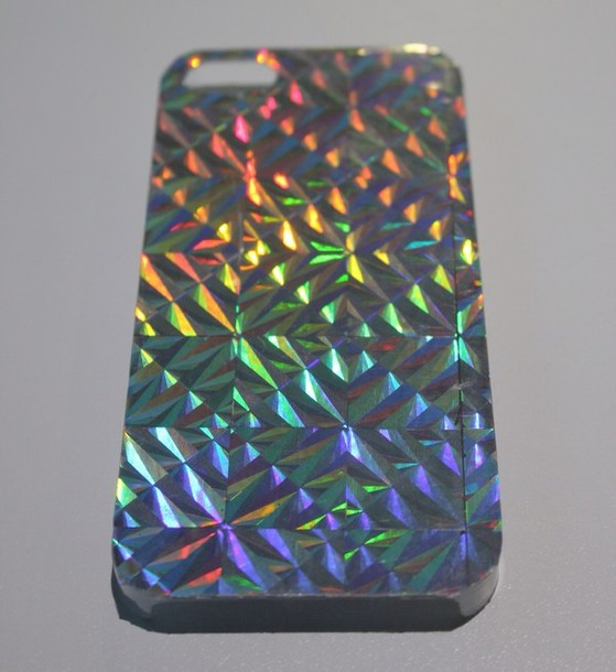 bag phone case holographic