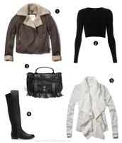dress like jess,blogger,jacket,top,bag,cardigan,fringed bag,thigh high boots