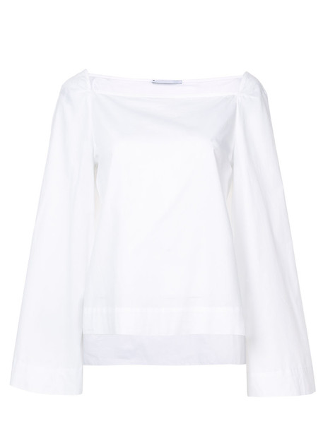 Rosetta Getty top women white cotton