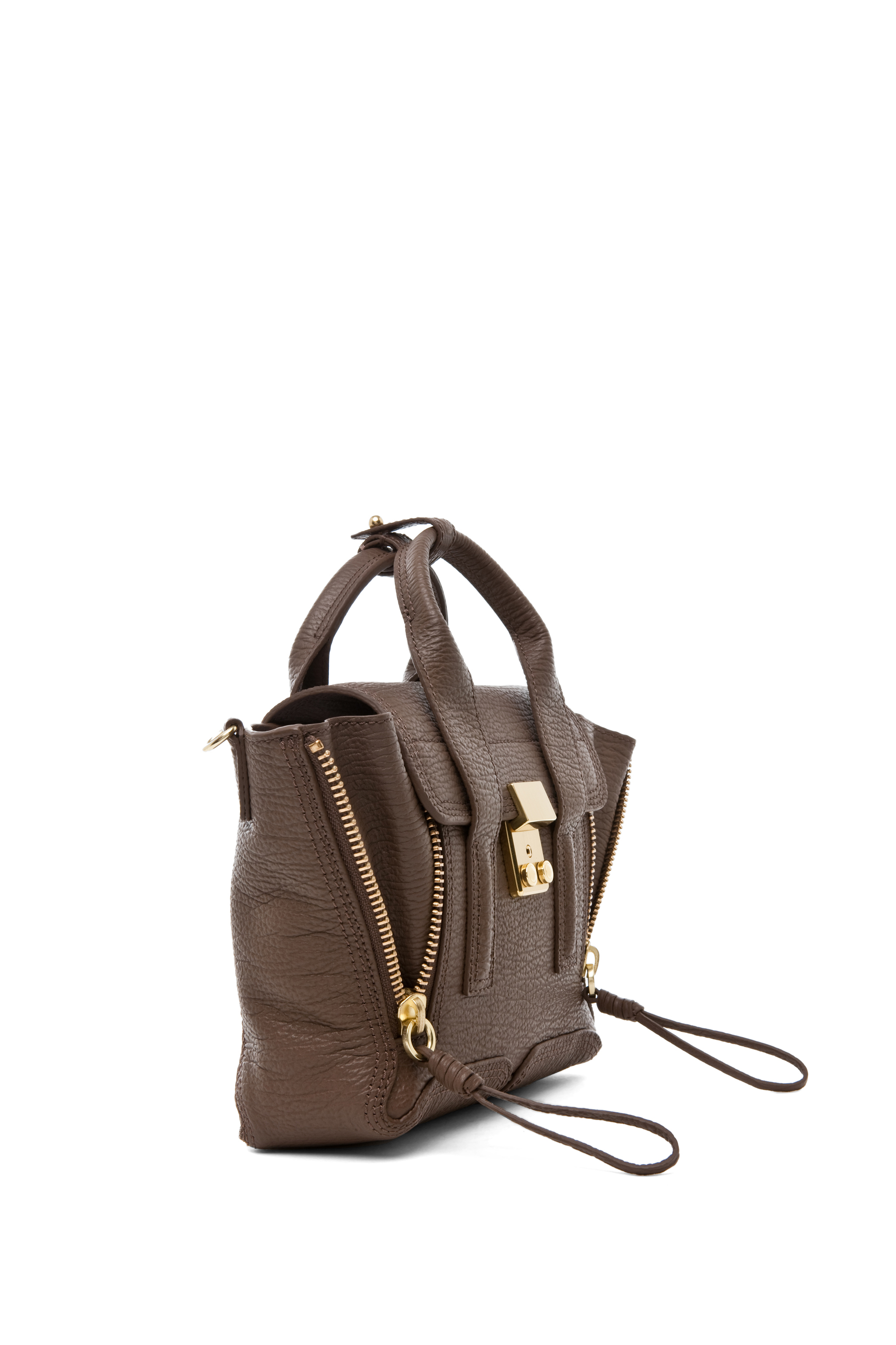 3.1 phillip lim|Mini Pashli Satchel in Taupe