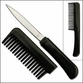 home accessory,knife,comb,black