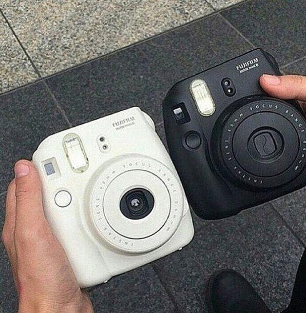 phone cover camera style retro black white poloroid polaroid