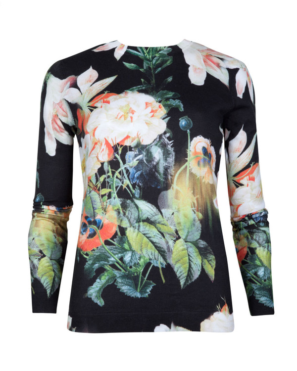clothes pullover floral floral sweater