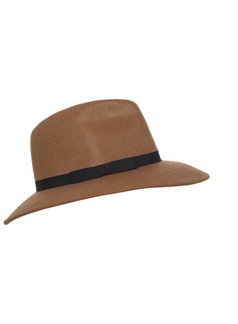 Camel Fedora - Miss Selfridge