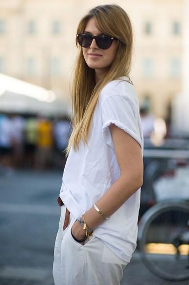 girl girly sunglasses white