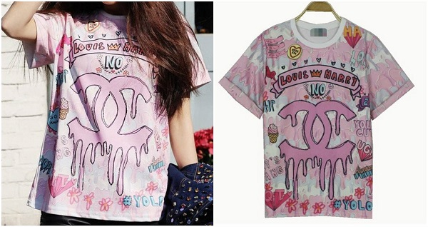 Harajuku Harry Louis Mash Up CC T Shirt from Tumblr Fashion on Storenvy