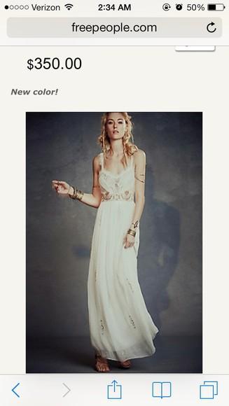 fashion unique vintage long prom dresses hippie chic white dress cute dress chicityfashion dress