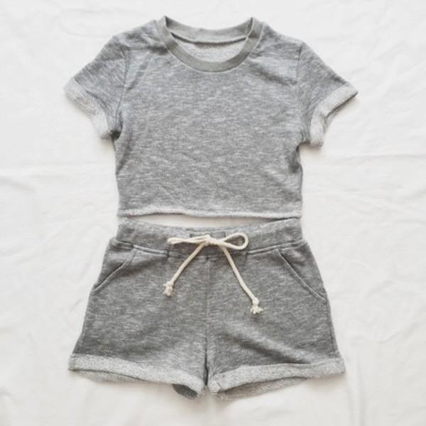 shorts grey shorts
