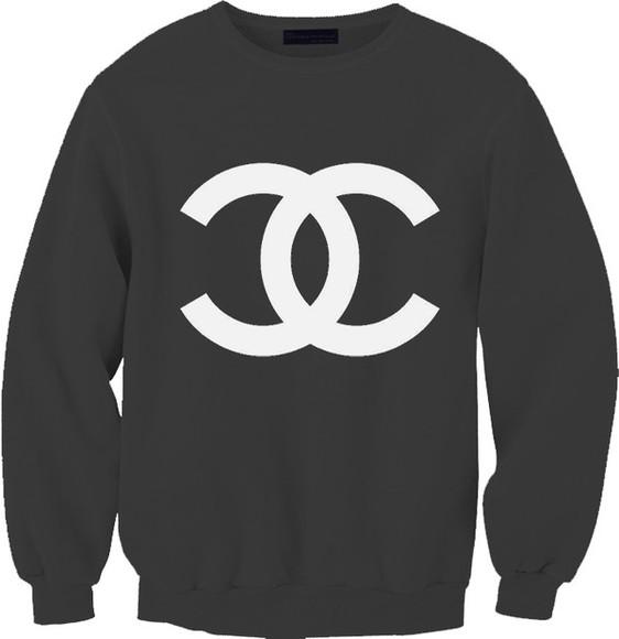 jumper printed sweater