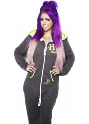 OneCM | Holly Hagan Onesie | Grey MORTAL Onesie | Geordie Shore Onesie