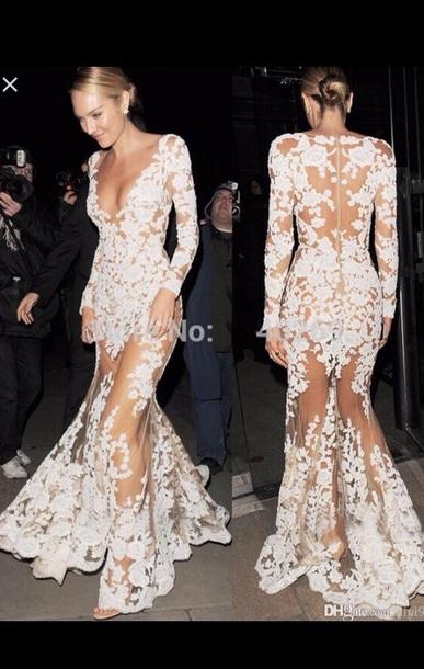 Dress White Dress Lace Dress Debs Dress Prom Dress Prom Prom