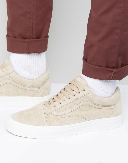 Vans Old Skool Premium Suede Pack In Beige VA38G1NZK at asos.com