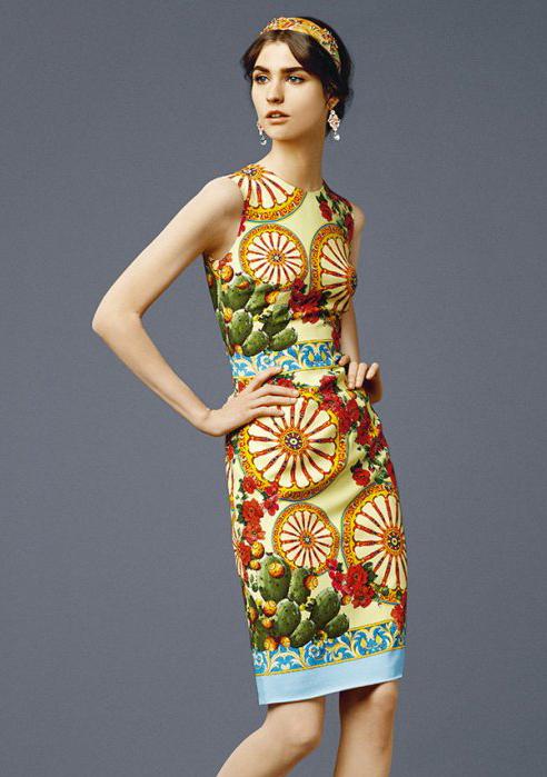 Yellow Sleeveless Wheel Print Tank Dress - Sheinside.com