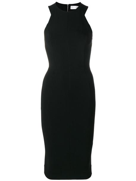 Victoria Beckham dress back women spandex black