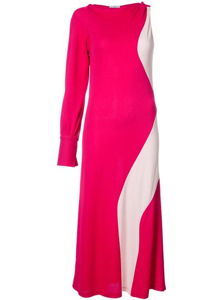 dress women purple pink