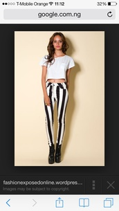 jeans,black and white,stripes,white and black striped,robin thicke blurred lines,cotton,fashion print