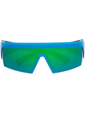 women sunglasses blue green