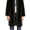 Abrigo fake-fur negro | bimba y lola ®