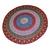 Indian Round Mandala Beach Throw Hippie Yoga Mat Red Bohemian Roundies