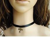 jewels,jewelry,jewelries,choker necklace,lolita,gothic lolita,my lolita dress,necklace,black,90s style