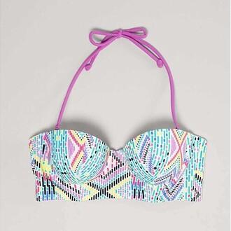 colorful swimwear