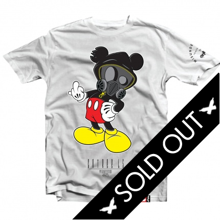 F YOU MICKEY White Tee