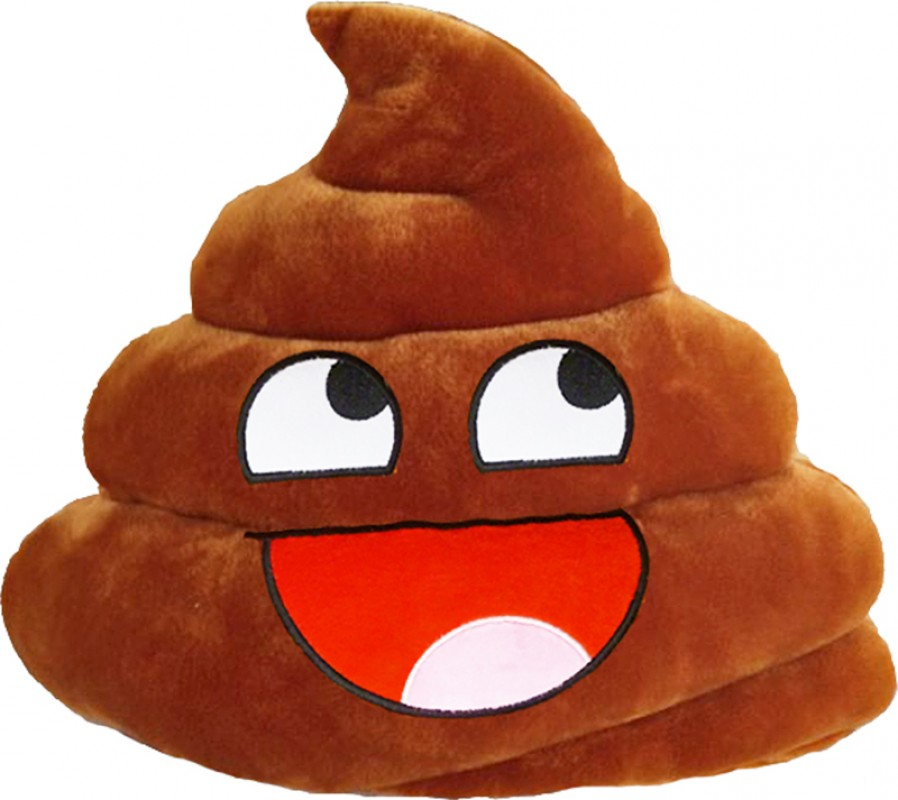 Awesome Shit Poo Emoji Pillow Poop Smiley