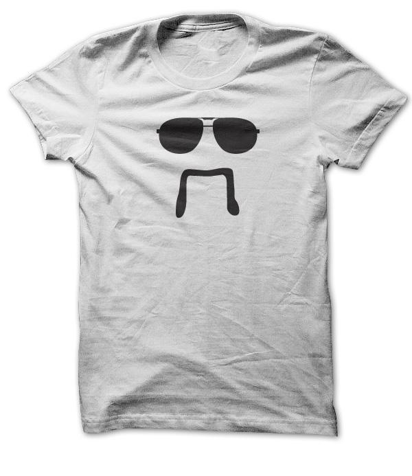 Invisible Fu Manchu T-Shirt & Hoodie