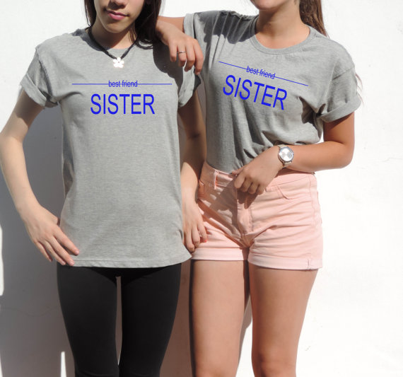 Best friends shirt gift for best friend unbiological sisters tumblr tee top t shirt xxs