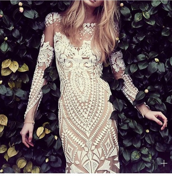 dress white dress embroidered