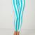 Buy Motel Jordan Skinny Jean in White and Mint Stripe at Motel Rocks