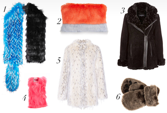 the fashion fraction blogger scarf gloves fluffy fuzzy coat pouch fur scarf